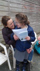 Edith and proud mum